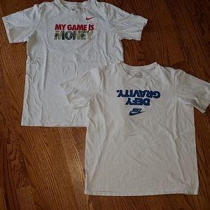 2 Nike tshirt tops size Xl